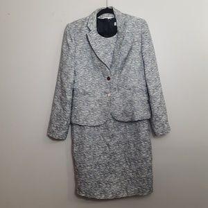 Calvin Klein Women's Tweed 2pc Dress Suit